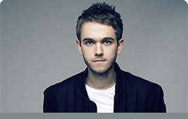 Zedd Photo with Mixed In Key Quote