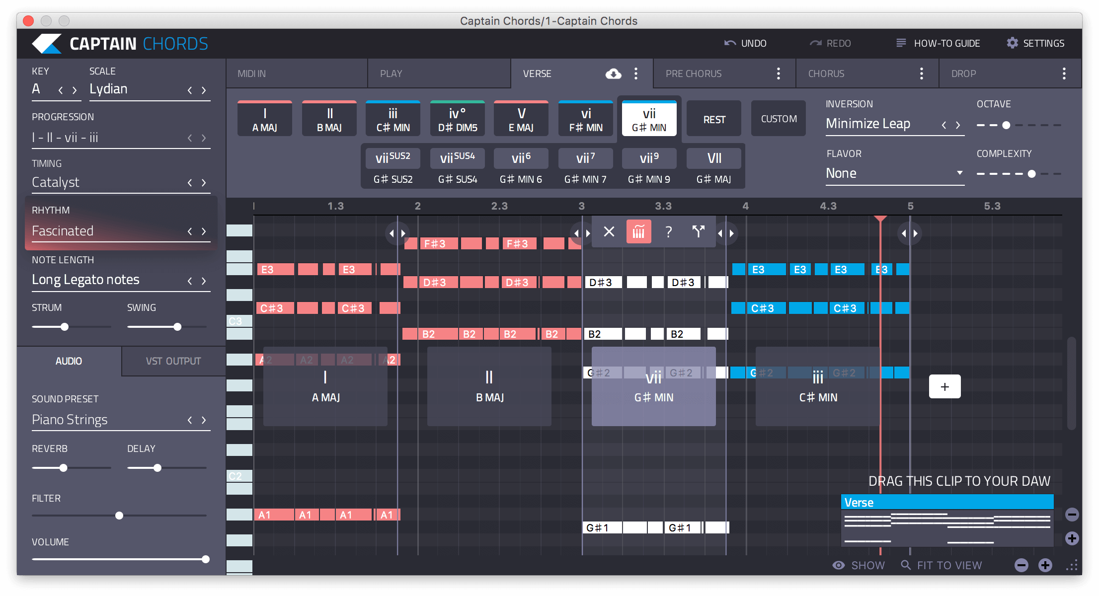 Captain Chords 20 Chord Progression Software Vst Plugin Sound Developing System Diagrams As A Useful Road Map Pro Web Plugins Write Progressions In Your Favorite Daw