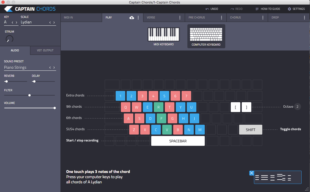 Captain Chords 2 0: Chord Progression Software + VST Plugin