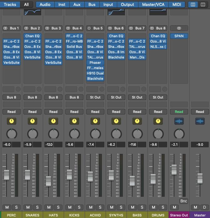 mastering beats in logic