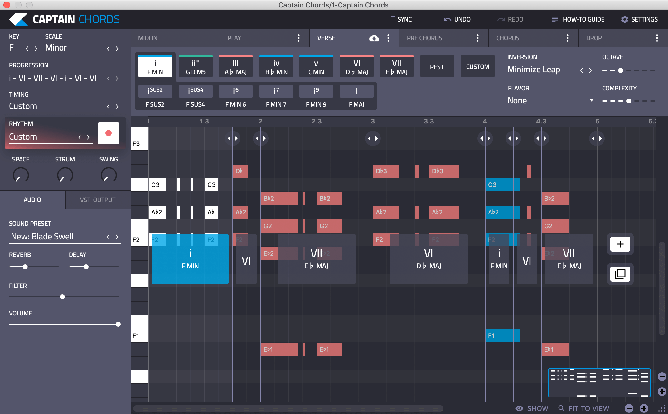 Captain Chords 3 0 Chord Progression Software VST Plugin