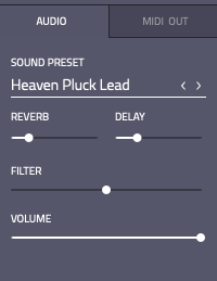 Sound presets and FX